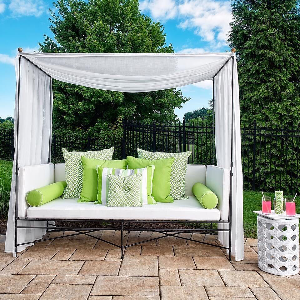 30 Likes, 1 Comments - Michelle Troxell ... on Living Spaces Outdoor Daybed id=16859
