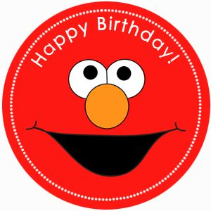 free elmo party printables