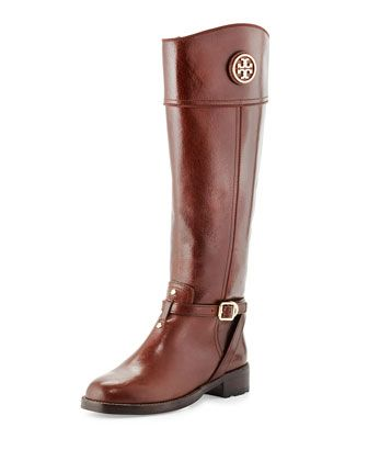 515cda23fa61 Teresa Logo Riding Boot