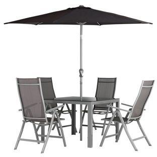 buy malibu 4 seater patio furniture set at argoscouk your online - Garden Furniture 4 Seater Sets