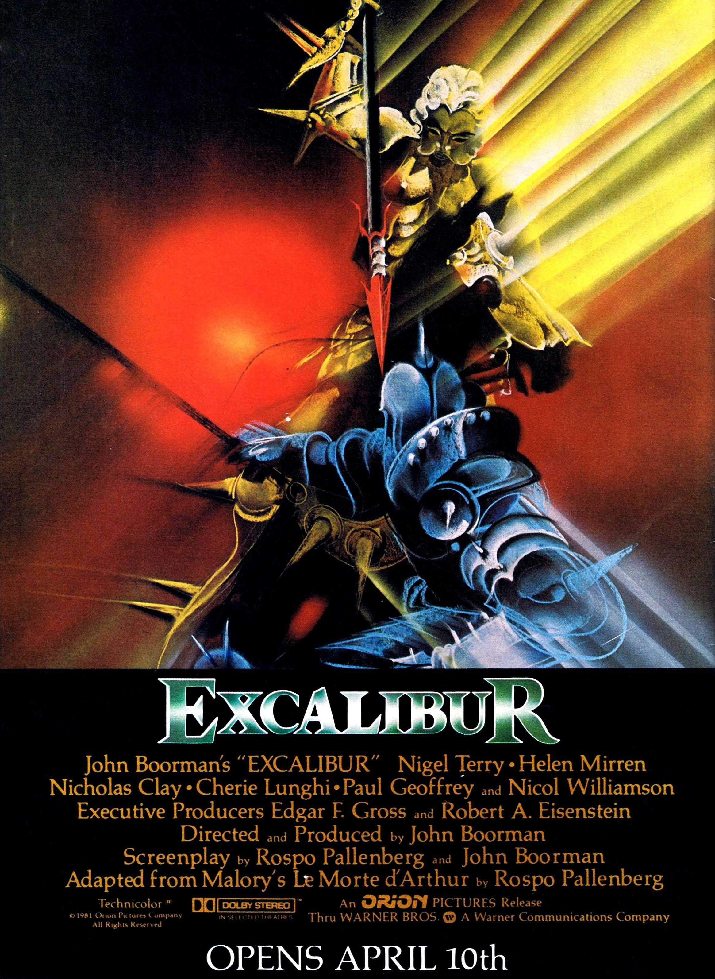 Excalibur 1981 Vintageads Ads Vintage Printad Tvads Advertising Brandscience Influence Online Facebook Excalibur Adventure Romance Comic Book Guy