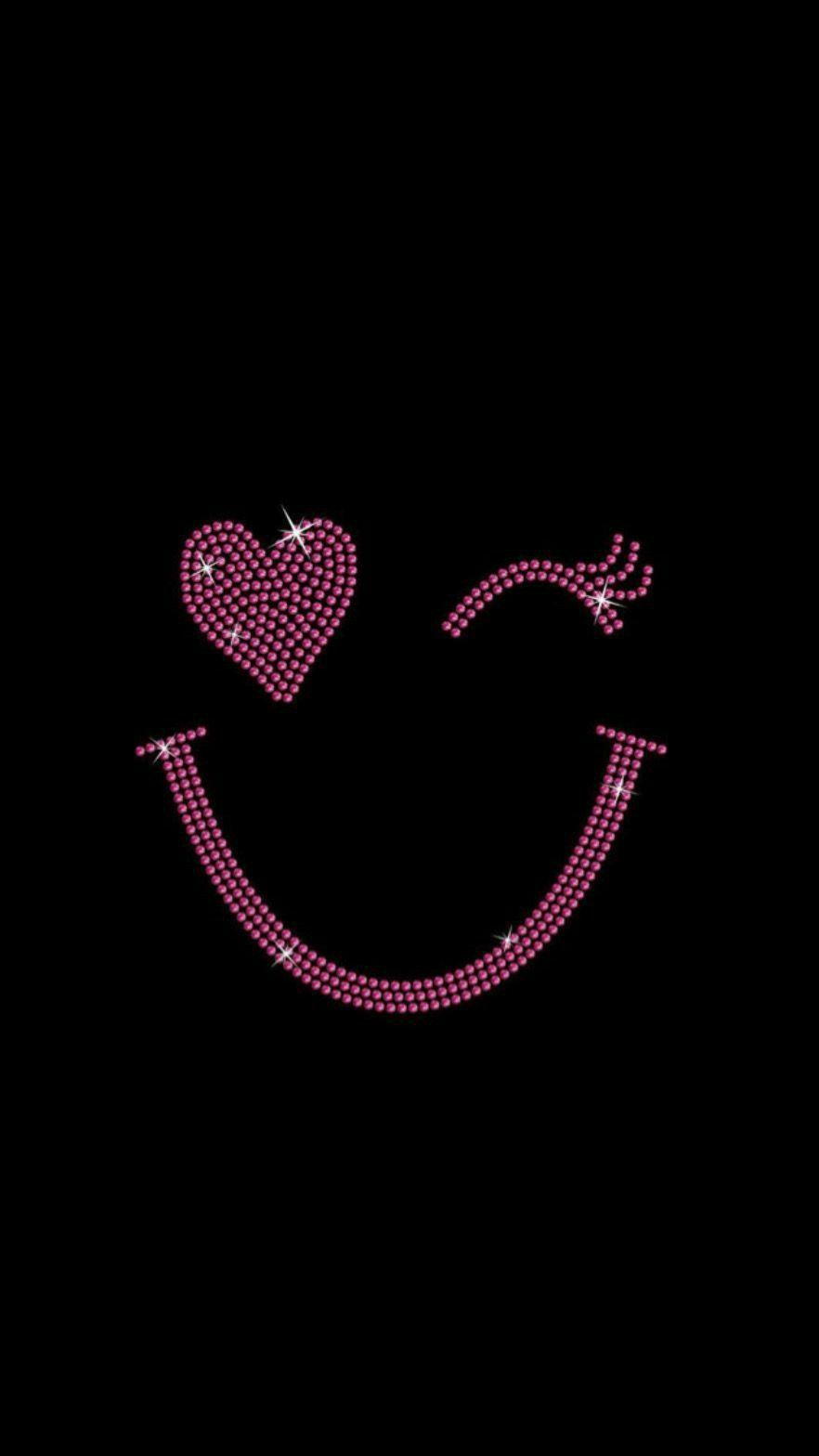 Pin By Angeli Kwauk On Rainbow Heart Flower Phone Wallpaper Glitter Phone Wallpaper Happy Wallpaper