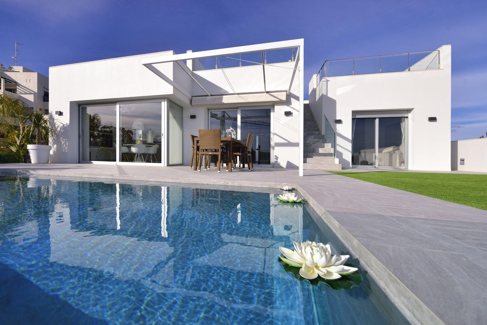 villa con piscina - Una villa que te enamorará