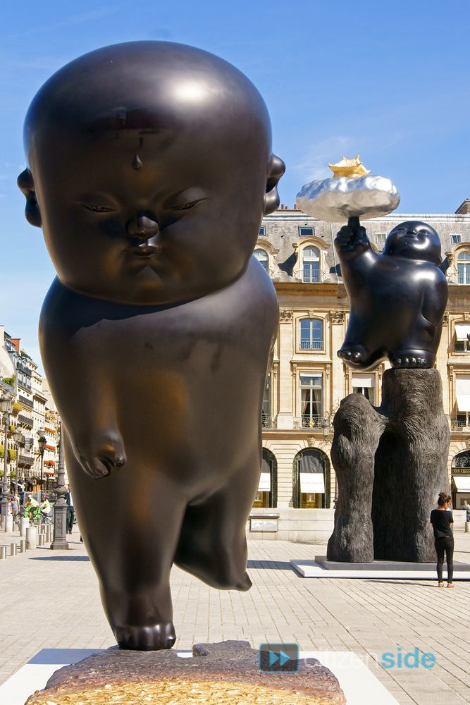 LI Chen, Place Vendôme, Paris, 2013