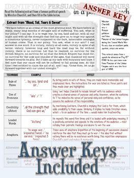 Free Persuasive Language Worksheets Language Worksheets Ethos Pathos Logos Persuasive Techniques