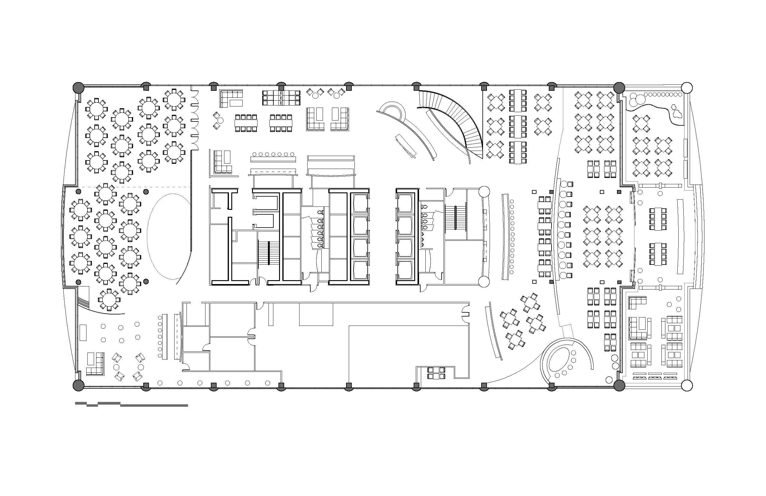 hotel floor plan seating arrangement