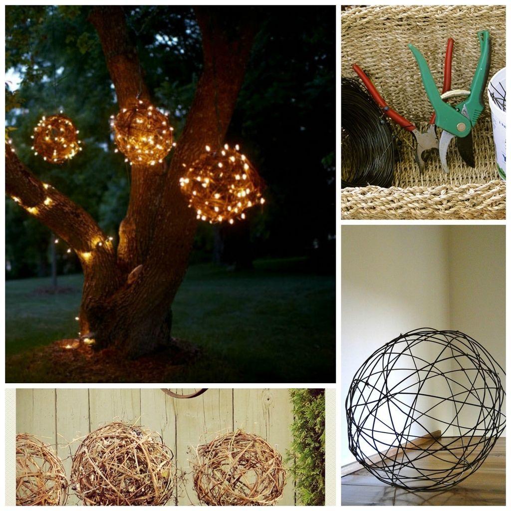 Outdoor Hanging Grape Lights: 28 Outdoor Lighting DIYs To Brighten Up Your Summer