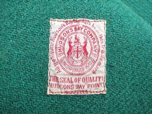 1 Old Vtg Hudson Bay 3 1 2 Point Green Black Stripe 2 Tone Wool Trade Blanket Ebay Vintage Wool Blanket Vintage Blanket Hudson Bay Blanket