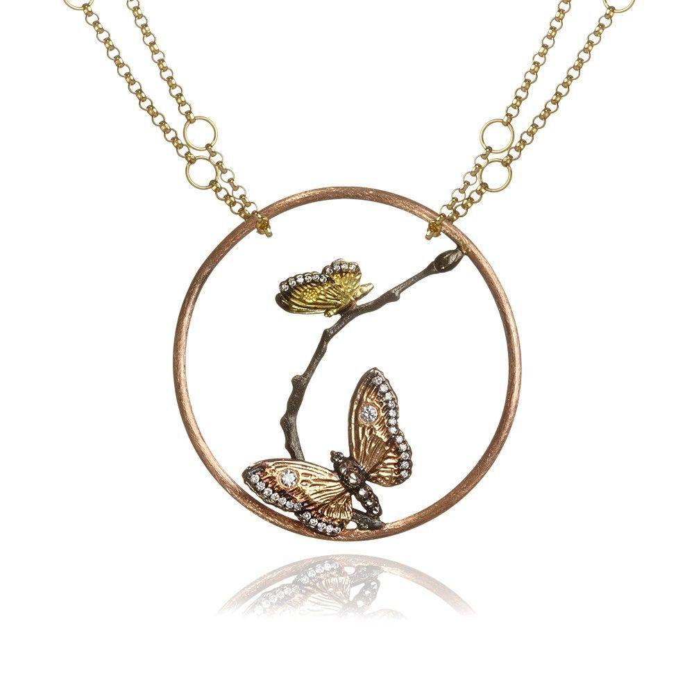 Hoopla Long Narrative #Butterflies #Necklace