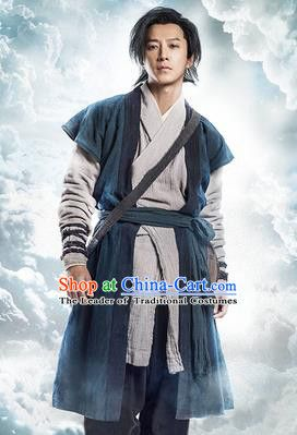 Traditional Ancient Chinese Male Costume Chinese Han Dynasty Men Dress Chinese Swordsman Clothing for  sc 1 st  Pinterest & Cotton Ancient Chinese Costumes Curved hem dress Quju Han Dynasty ...