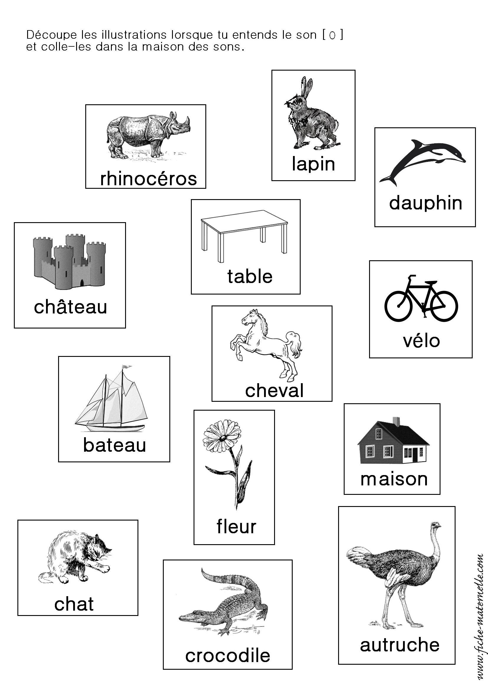 Assez Apprendre à lire en maternelle et CP : exercices autour du son [i  LZ93
