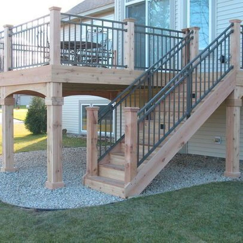 85 Cozy Backyard Patio Deck Design Ideas