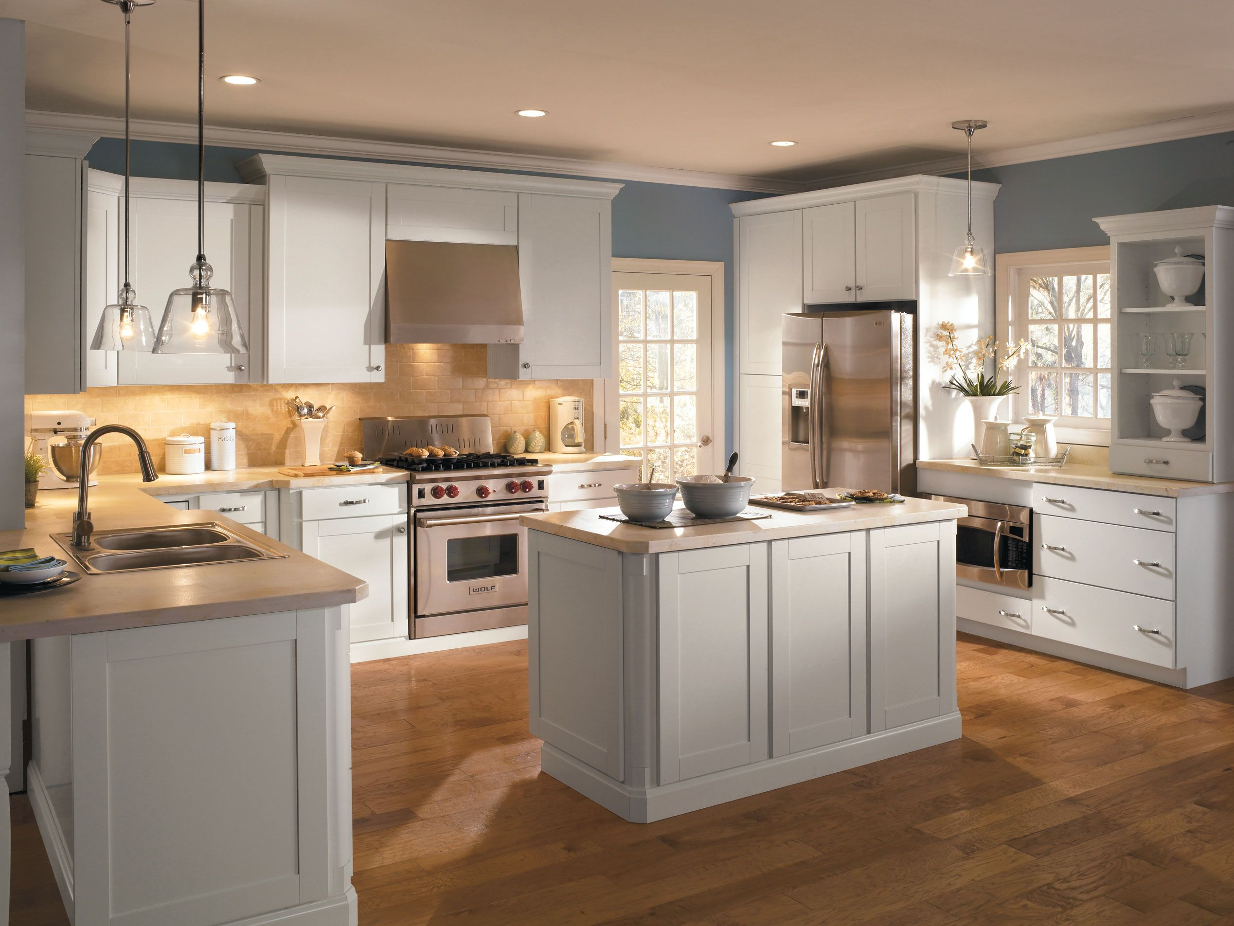 Inspiredthe Sensibility Of The Distinctive Shaker Style Delectable Small Kitchen Interior Design Decorating Inspiration