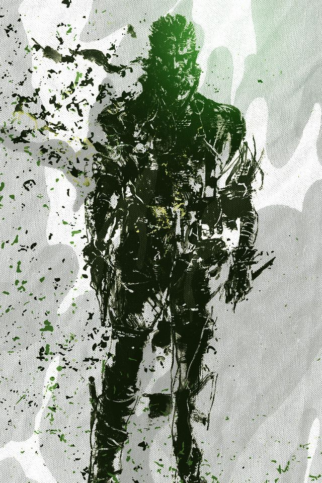 Metal Gear Solid Iphone Wallpaper Wallpapersafari Big