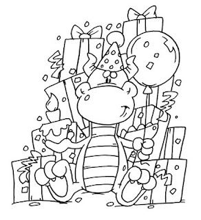 Dustin Pike Birthday Coloring Pages Digi Stamps Digital Stamps