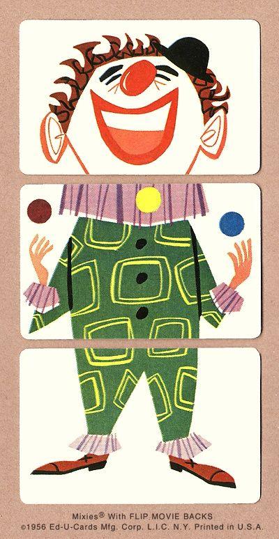 Imprimibles para recortar: puzzles de personajes de circo ...