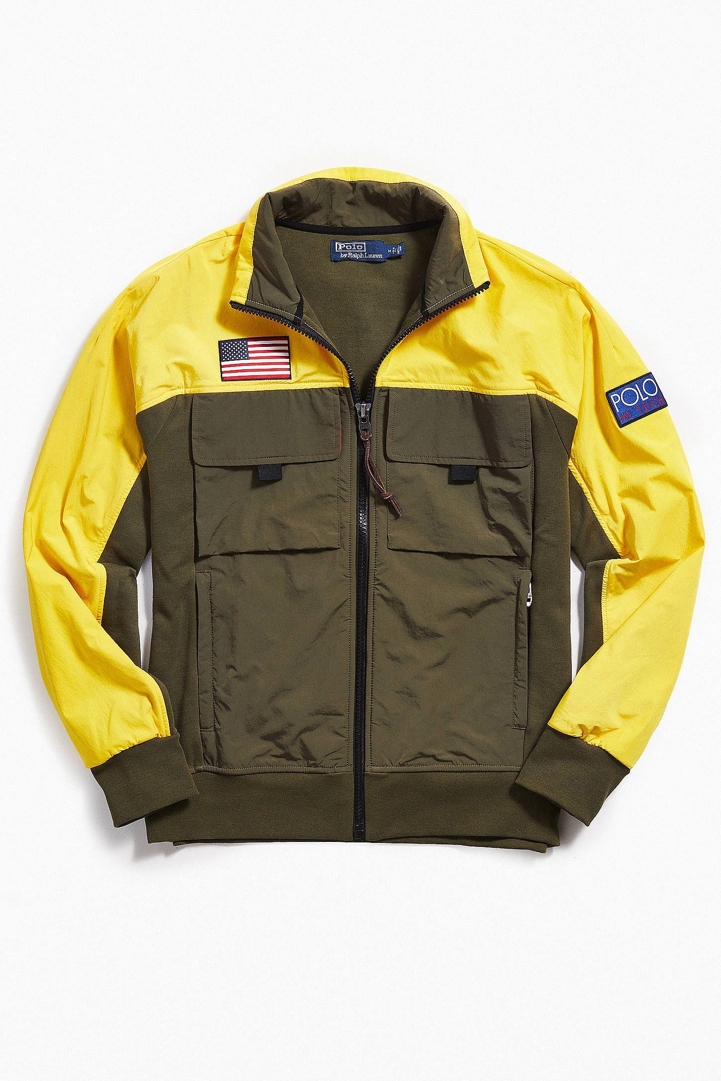 1c752c4876e8 Polo Ralph Lauren Double-Knit Hi-Tech Hybrid Jacket