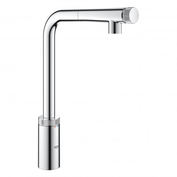 Grohe Minta Smartcontrol Kitchen Fitting With Pull Out Spout Chrome 31613000 Reuter Com In 2020