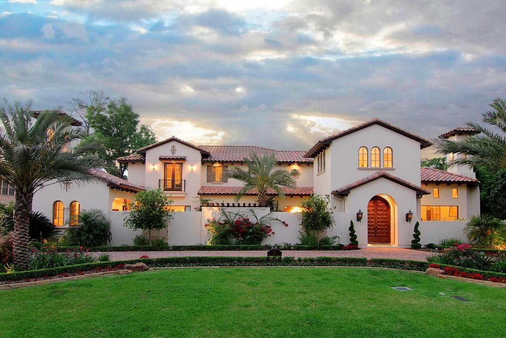 House plans mediterranean style homes in addition spanish for Case in stile hacienda
