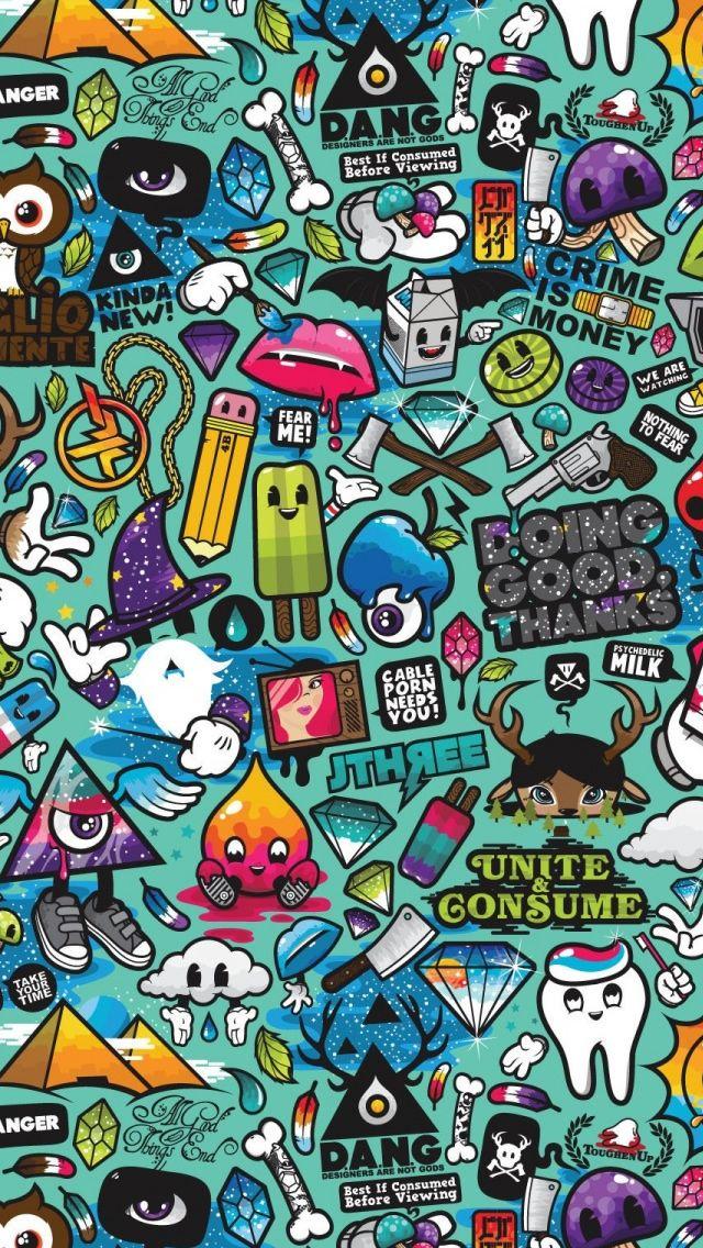 Comics 2 i5 WallpaperAnime&CartooniPhone Themes,iPhone
