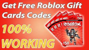 roblox gift card codes 2020 unused no human verification
