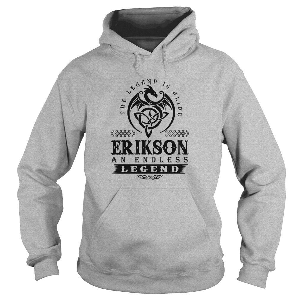 [Hot tshirt name origin] ERIKSON Teeshirt of year Hoodies, Funny Tee Shirts