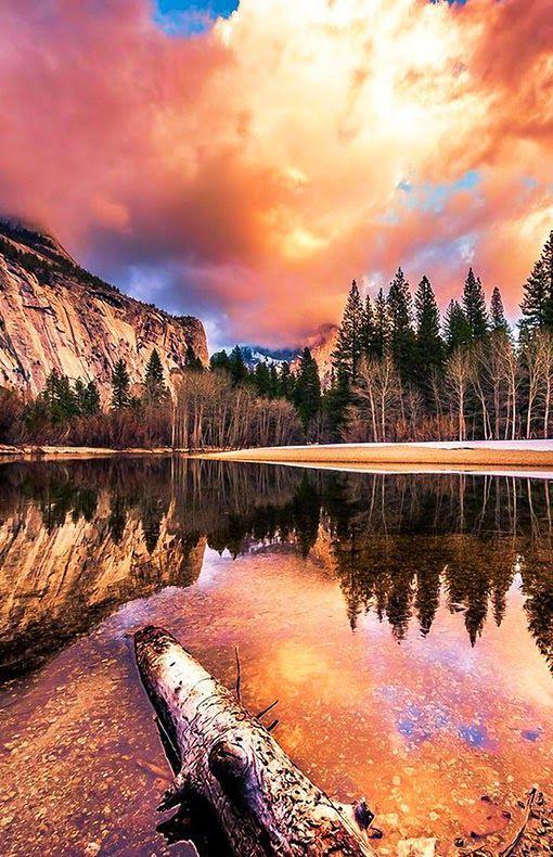 Yosemite National Park In California Awesome Camping Trip Locations Travel Destinations Around The Kalifornien Nationalparks Landschaftsbilder Naturbilder