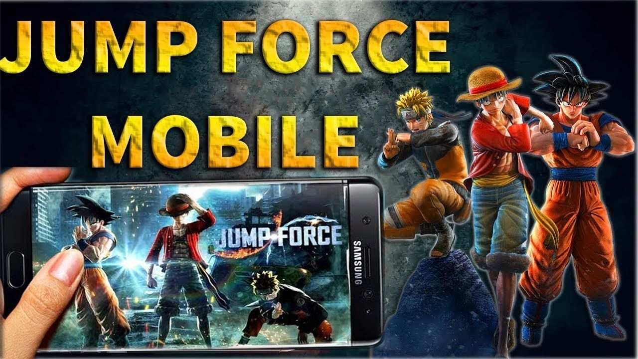 JUMP FORCE ANDROID GAME 100 WORKING (No Verification