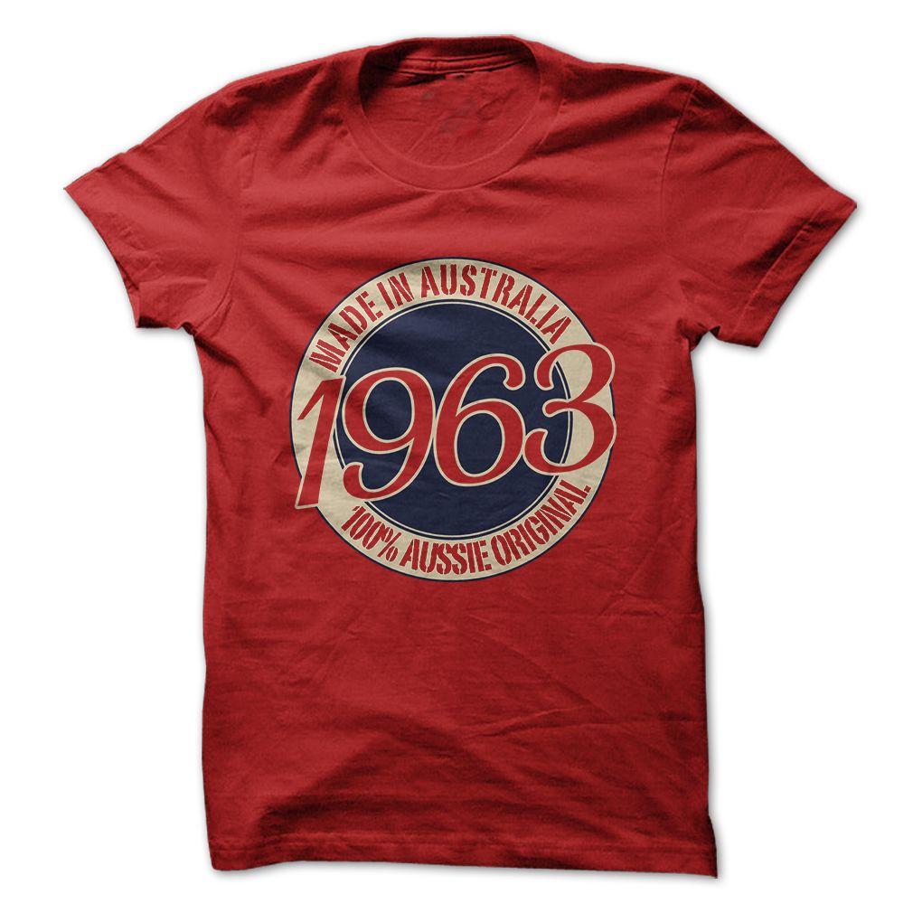 Made in Australia - 1963... #Aged #Tshirt #year