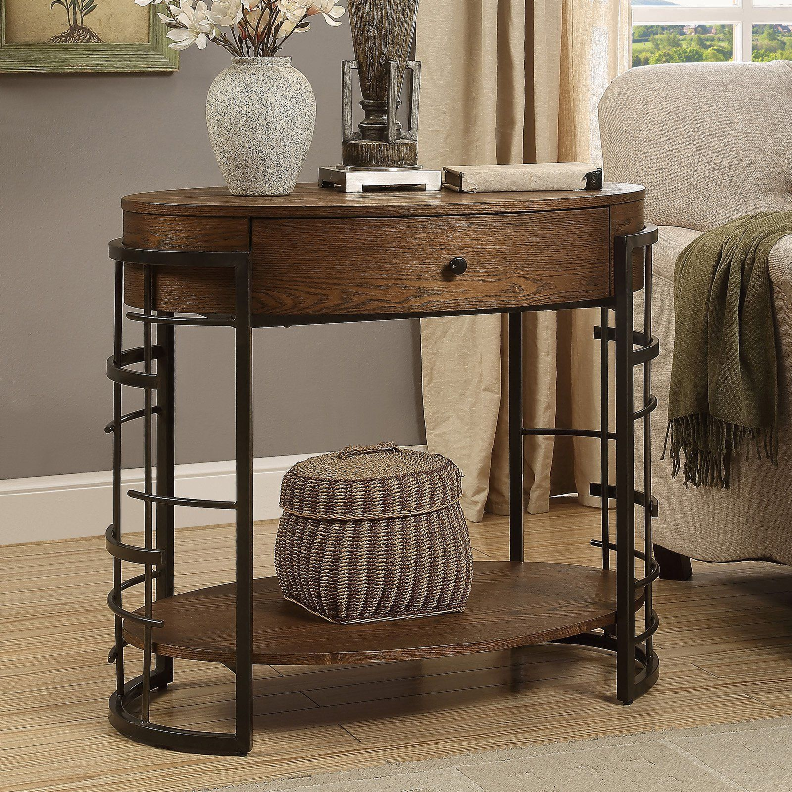 Coast To Coast Imports One Drawer Accent Table 96597 Table