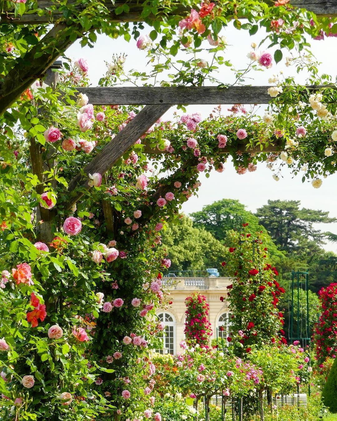 Dans Les Jardins De Bagatelle Pres De Paris Paris