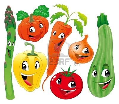 7579629 Familia De Vegetal Divertidos Dibujos Animados Jpg 400 349 Vegetable Cartoon Funny Vegetables Cartoon
