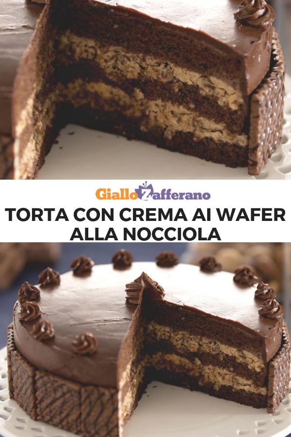 Ricetta Wafer Nocciola.Pin Su Dolci Dessert