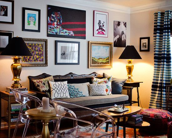Pin By Mallory Odom On Eclectic Rooms Eclectic Living Room