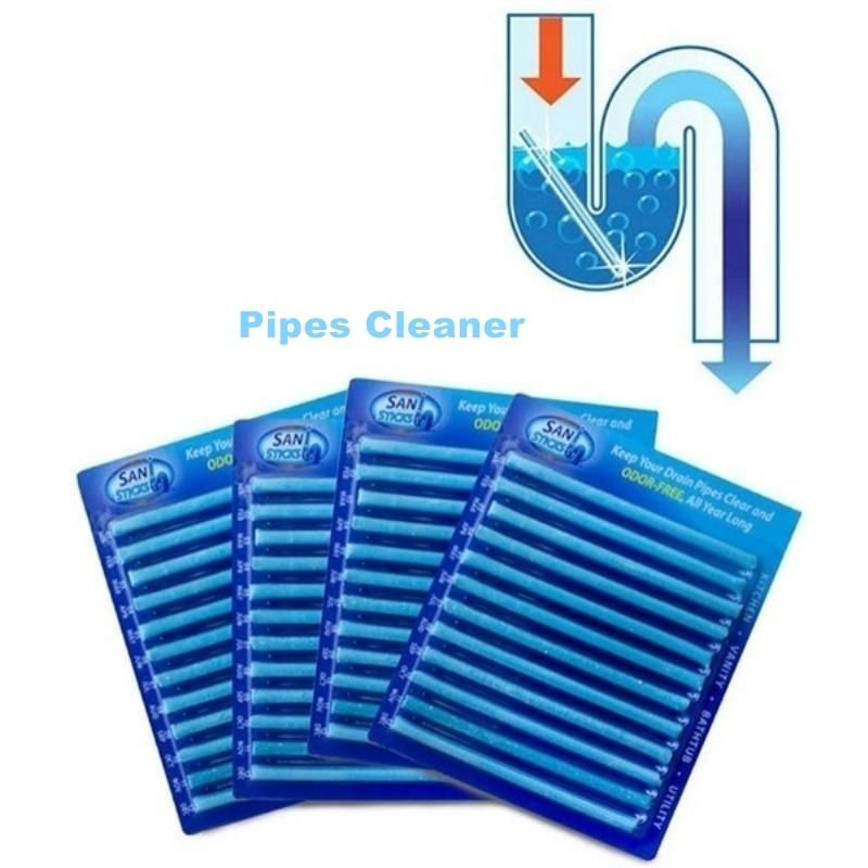 Magic Sewer Drain Cleaner Sticks Sewer Drain Cleaning Drain Cleaner Cleaning Household