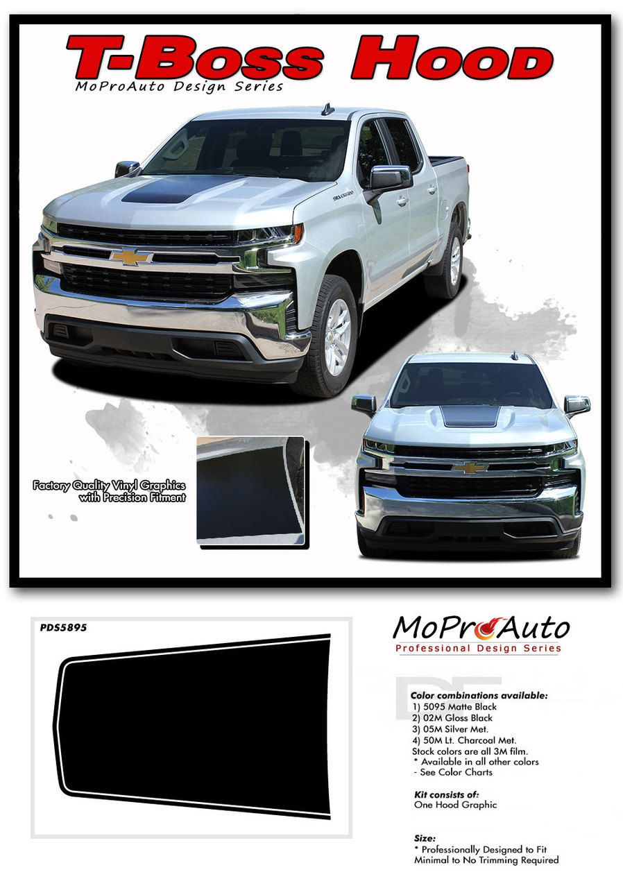 Silverado Trail Boss Hood Chevy Silverado Hood Decal Vinyl Graphic Stripe Kit Fits 2019 2020 Chevy Silverado Chevy Silverado Hd Silverado Hd