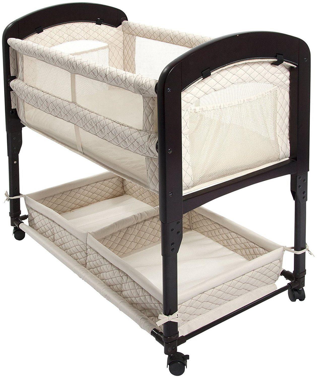 Co Sleeper Attach To Bed Arm S Reach Concepts Cambria Co Sleeper