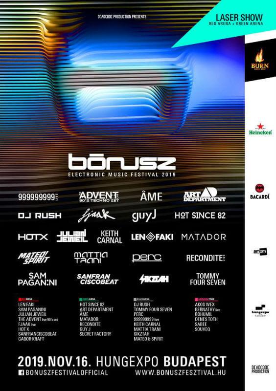 Bónusz Festival 2019 Evento