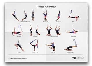 "yoga trapeze ""flow"" video tutorials  aerial yoga yoga at"