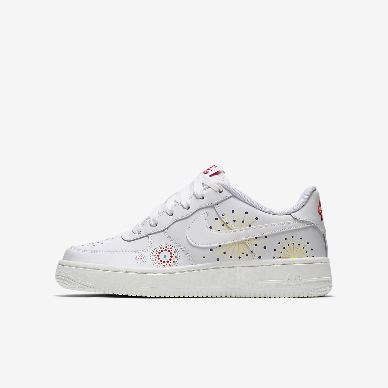 release date: 0e4fe 87bc2 Nike Air Force 1 Pinnacle QS Big Kids Shoe