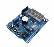 1pcs for Arduino Multifunctional Multi-functional Expansion Development Board Base Learning UNO LENARDO Mega 2560 Shield DIY Kit(China (Mainland))