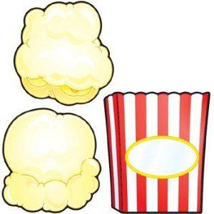 Esl Popcorn Science Fair Project Popcorn Theme Birthday Display