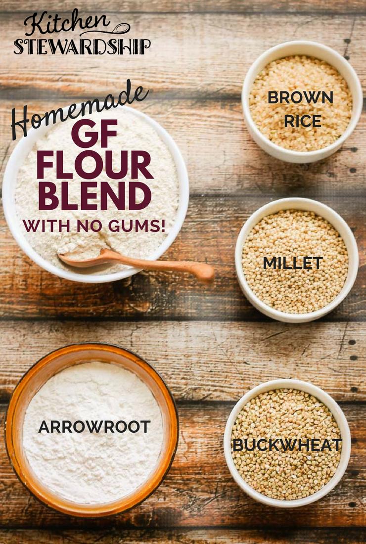 Try Making Your Own Gf Flour Blends Gluten Free Flour Mix Homemade Gluten Free Bread Grain Free Flours
