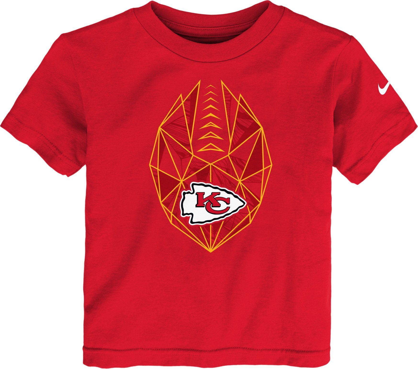 Nike Boys' Kansas City Football Icon Red TShirt Kansas