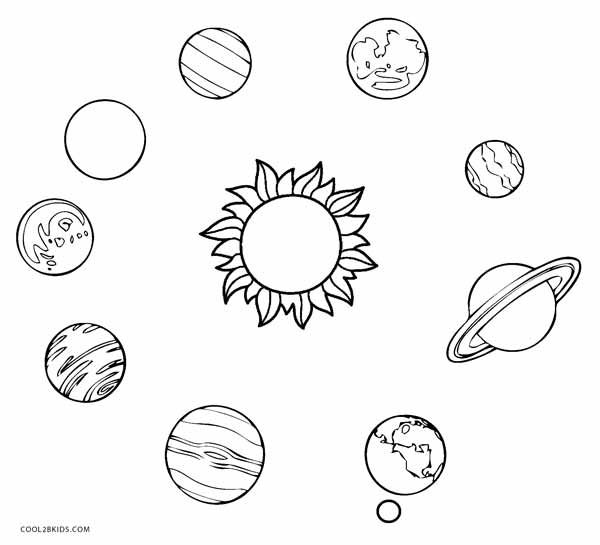 Coloring Pages Printable Solar System 2020 Solar System