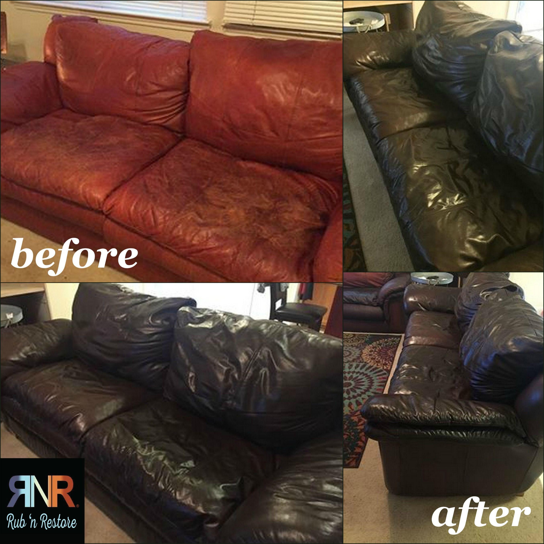 Espresso Dark Brown Vinyl Leather Furniture Dye Finish Leather Furniture Leather Restoration Furniture