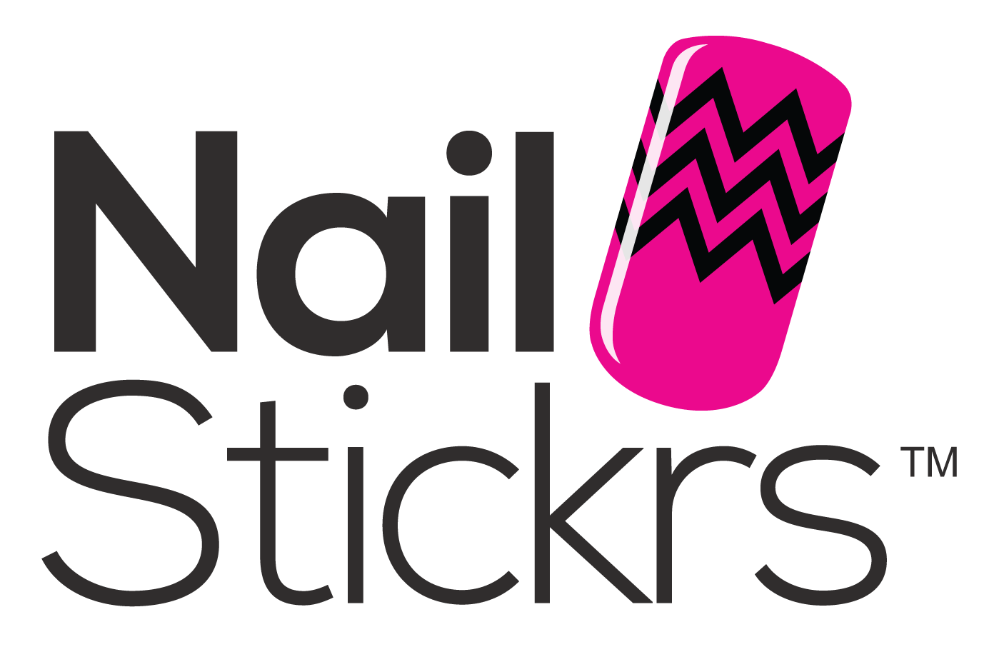 Nail Stickrs logo by Boasting Biz.