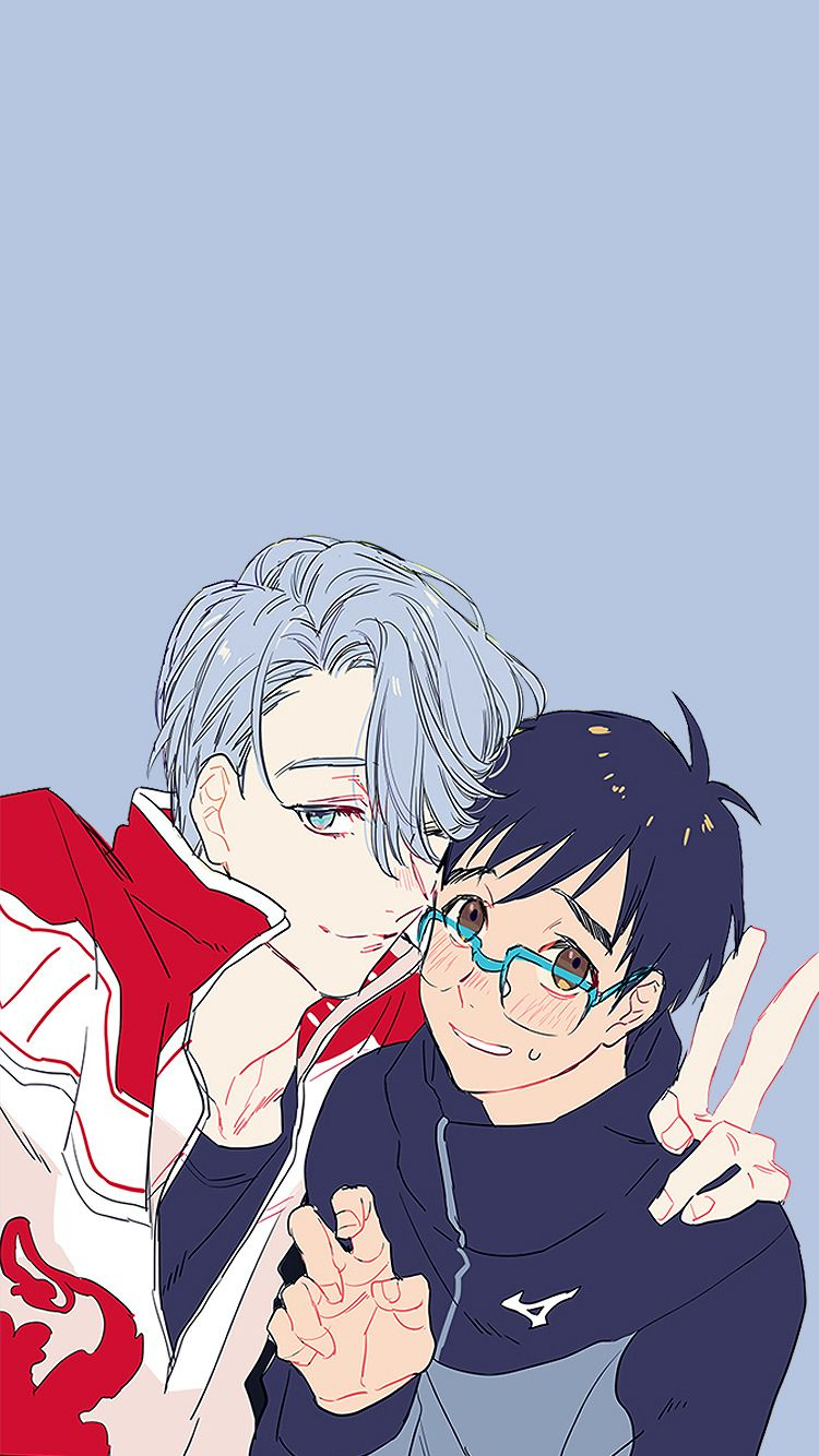 離れ������� — Yuri!!! on Ice iPhone Wallpapers Credits: x| x |...