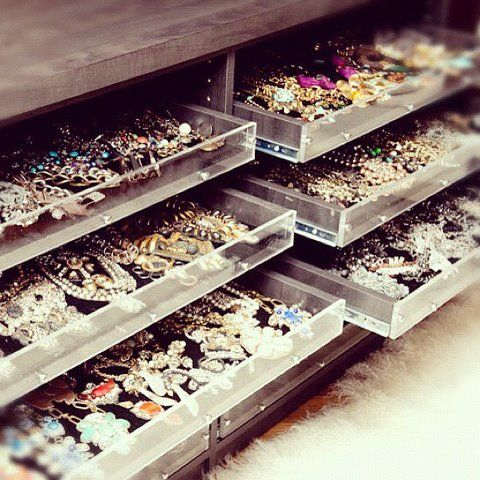 To Die For Jewelry Organizer for Luxury Master Closet Island Learn