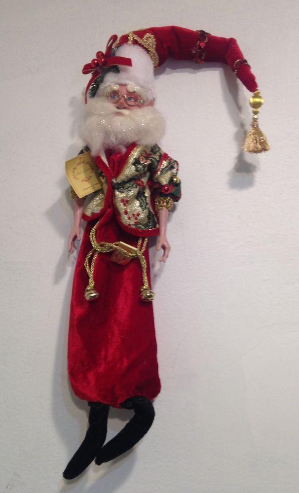"Coca-Cola Santa Cineplex Theater Promotional 3/"" Christmas Tree Ornament Popcorn"